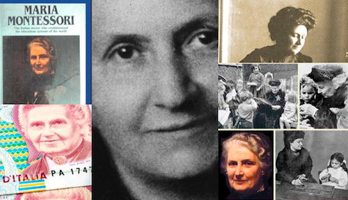 Maria Montessori en quelques images